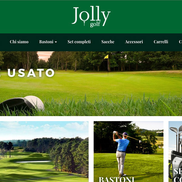 Jolly Golf Shop Ecommerce