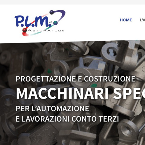 Sito web PLM Automation